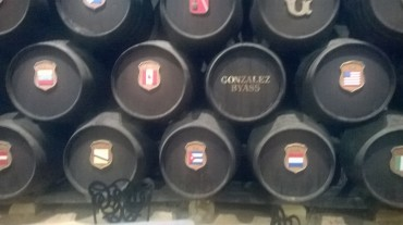jerez g byass Cuba and all barrels oct15