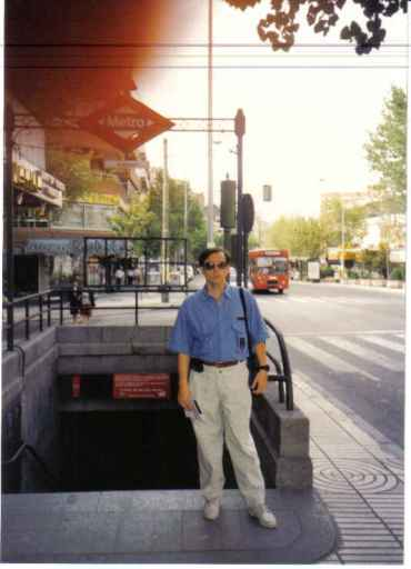 madrid calle de alcala PF out of metro quintana back right apt used to lived sep90