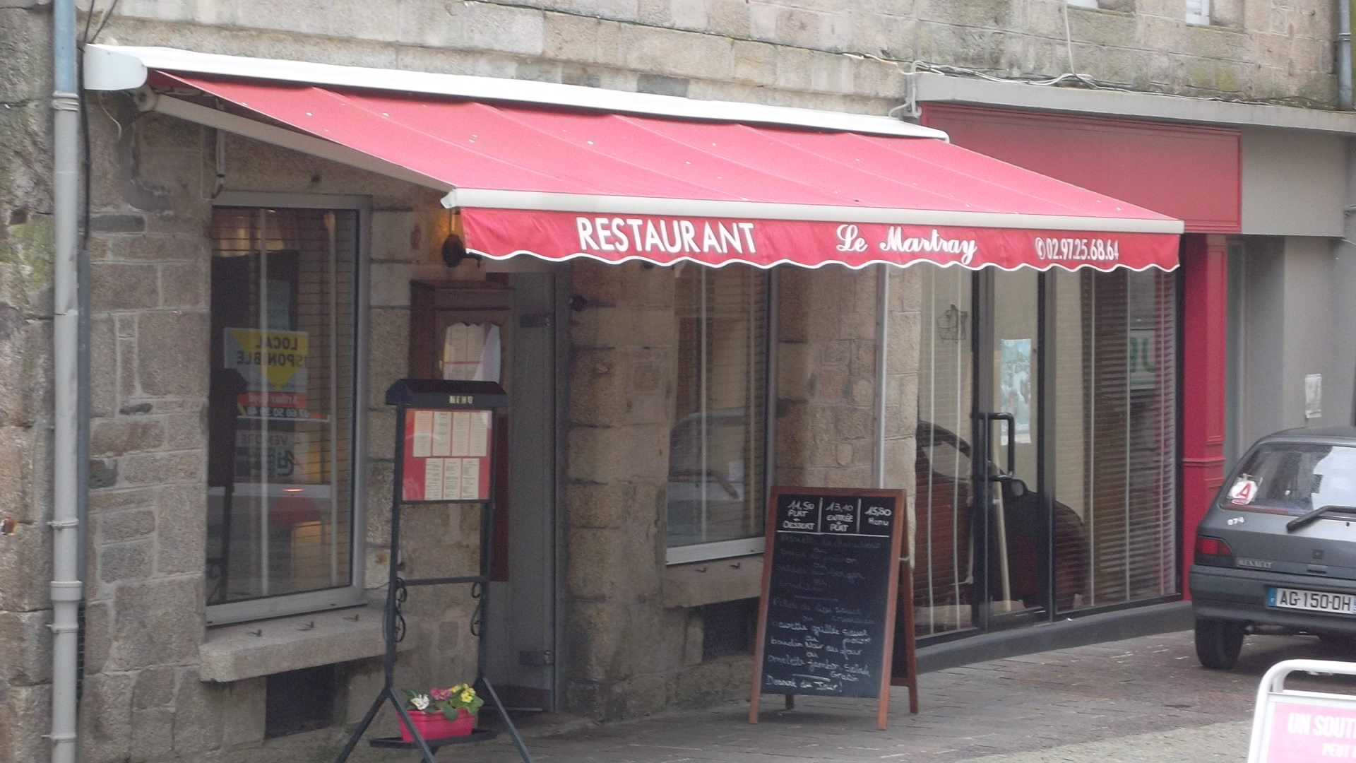 pontivy le martray resto pl du martray apr13