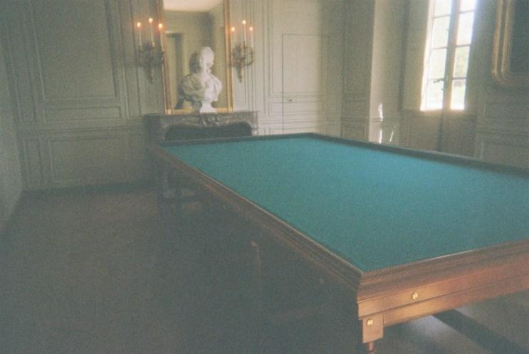 versailles petit trianon pool table