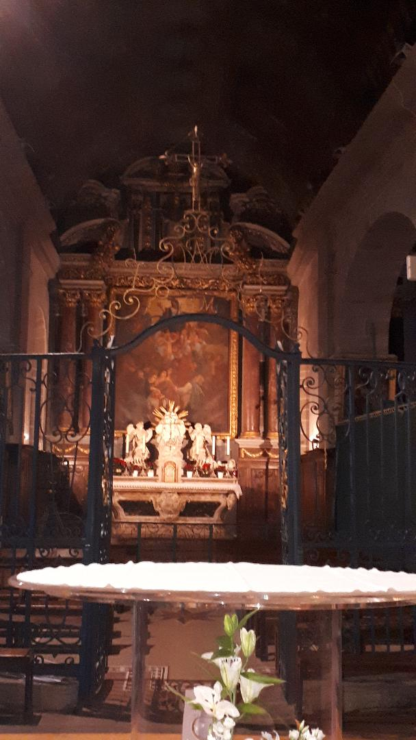 carnac ch st cornely altar jan21