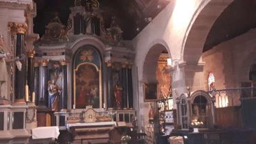 carnac ch st cornely chapels left side jan21