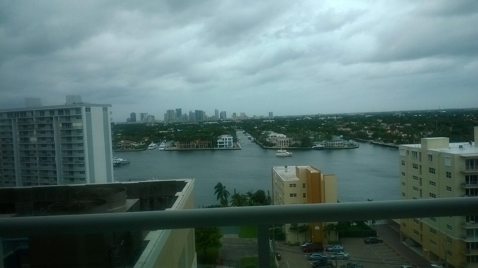 fort lauderdale canals from ritz carlton hotel nov15