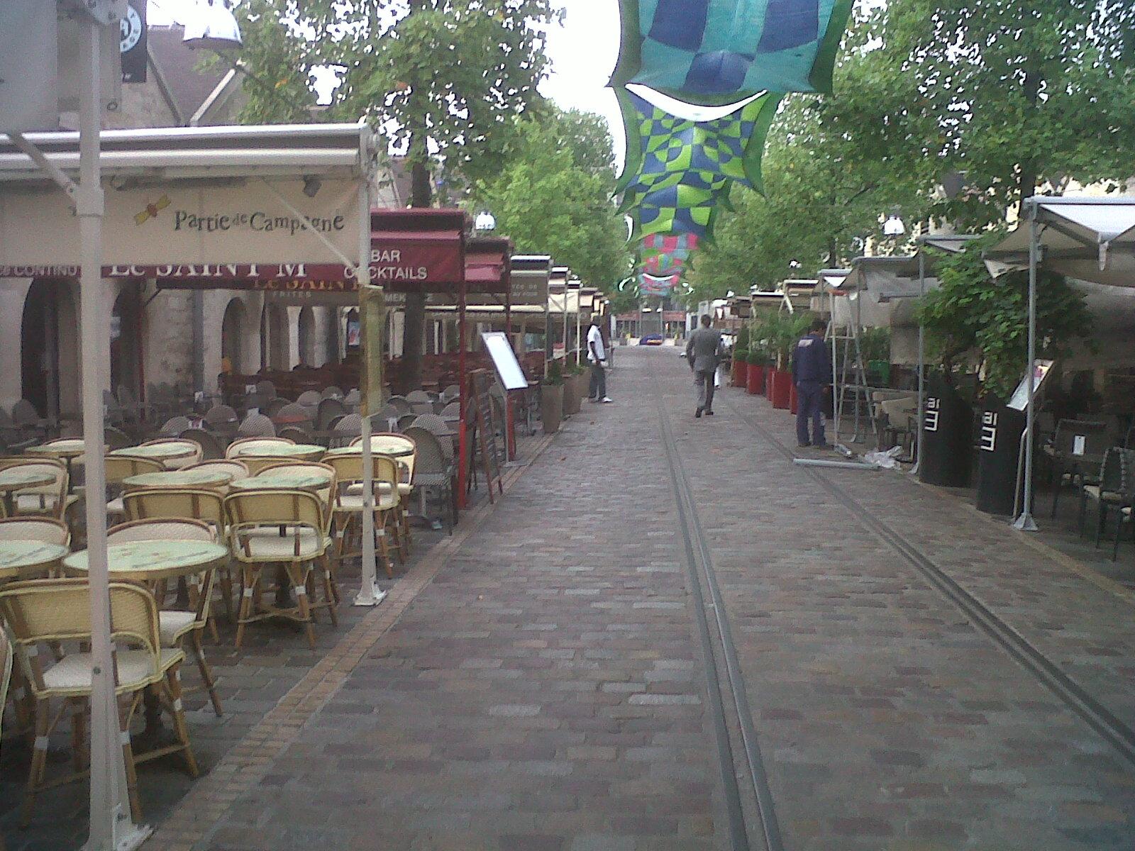 Paris bercy cour st emilion bercy village 2 sep12