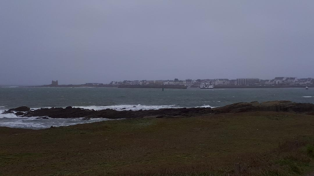 quiberon conguel to grand plage and chateau turpault jan21