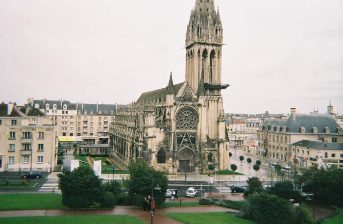 caen-ch-st-pierre-and-belltower
