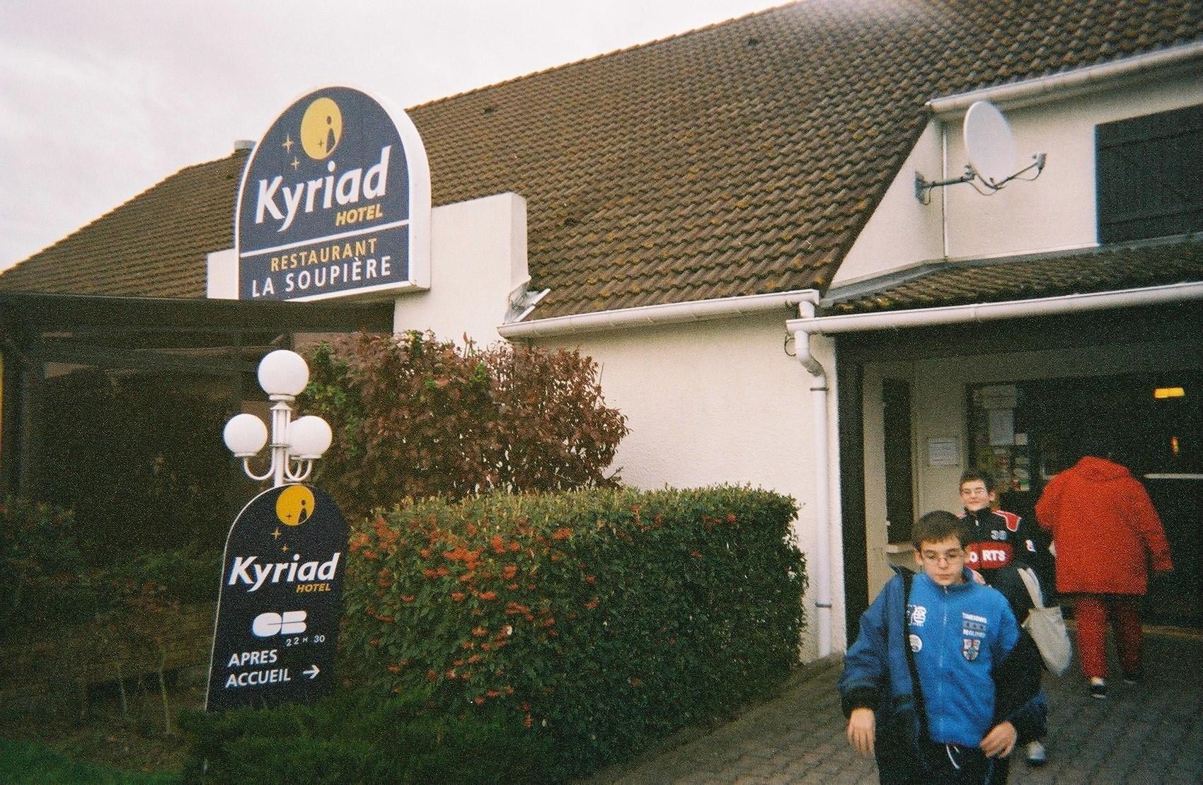 caen kyriad hotel boys and MF 2011