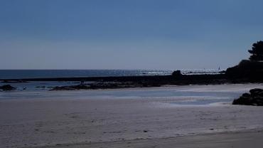 Gavres Grande plage pl des souvenirs mar21