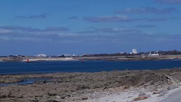 Gavres plage porh puns by fort mar21