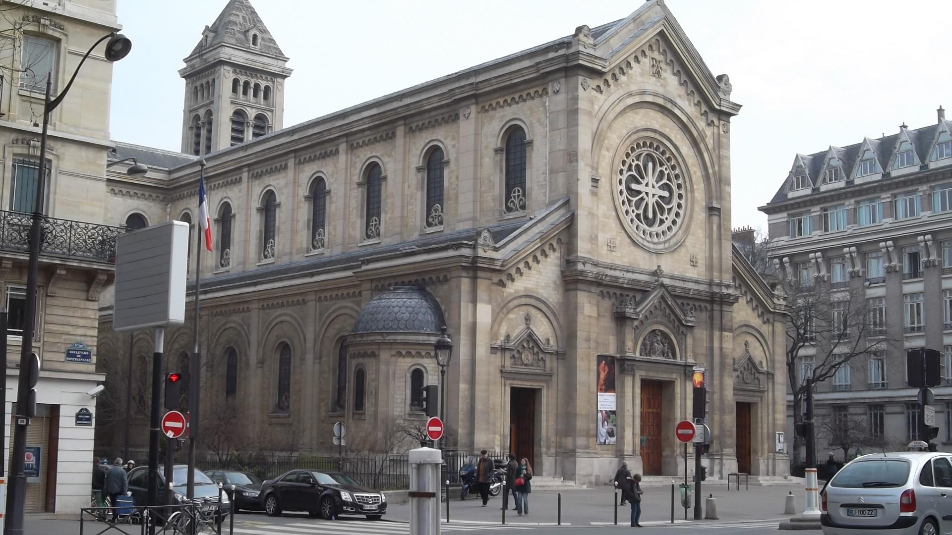 paris church notre dame des champs mar13