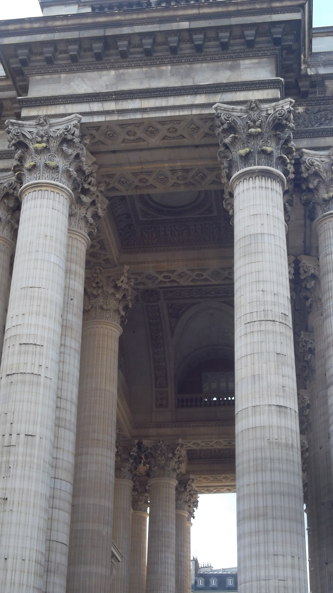 paris pantheon side front ceilings feb14