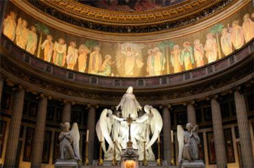 paris ch-de la madeleine- altar mar13
