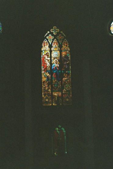curitiba Catedral Basílica Menor Nossa Senhora da Luz stained glass window jul08