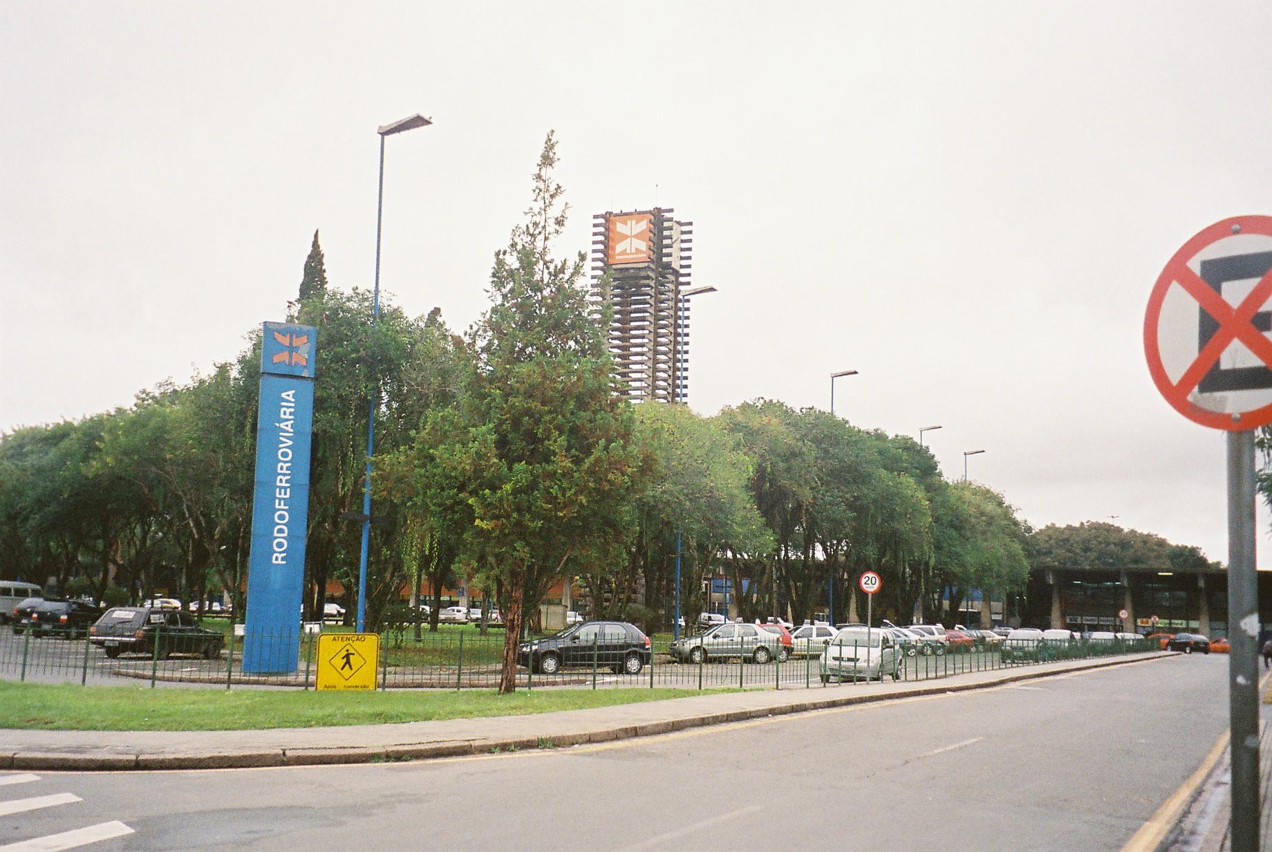 curitiba rodoferroviaria bus station jul08