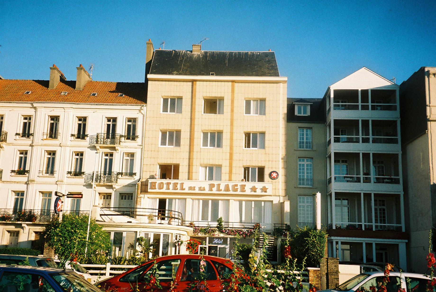 Dieppe hotel de la Plage on bd Verdun sep07
