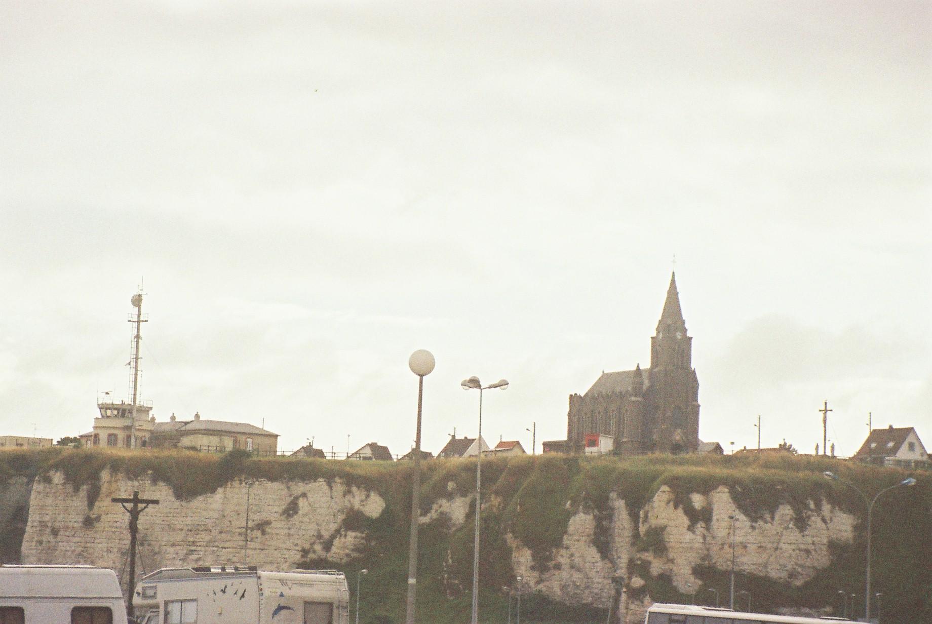dieppe quai henri IV to ch ND de Bonsecours sep07