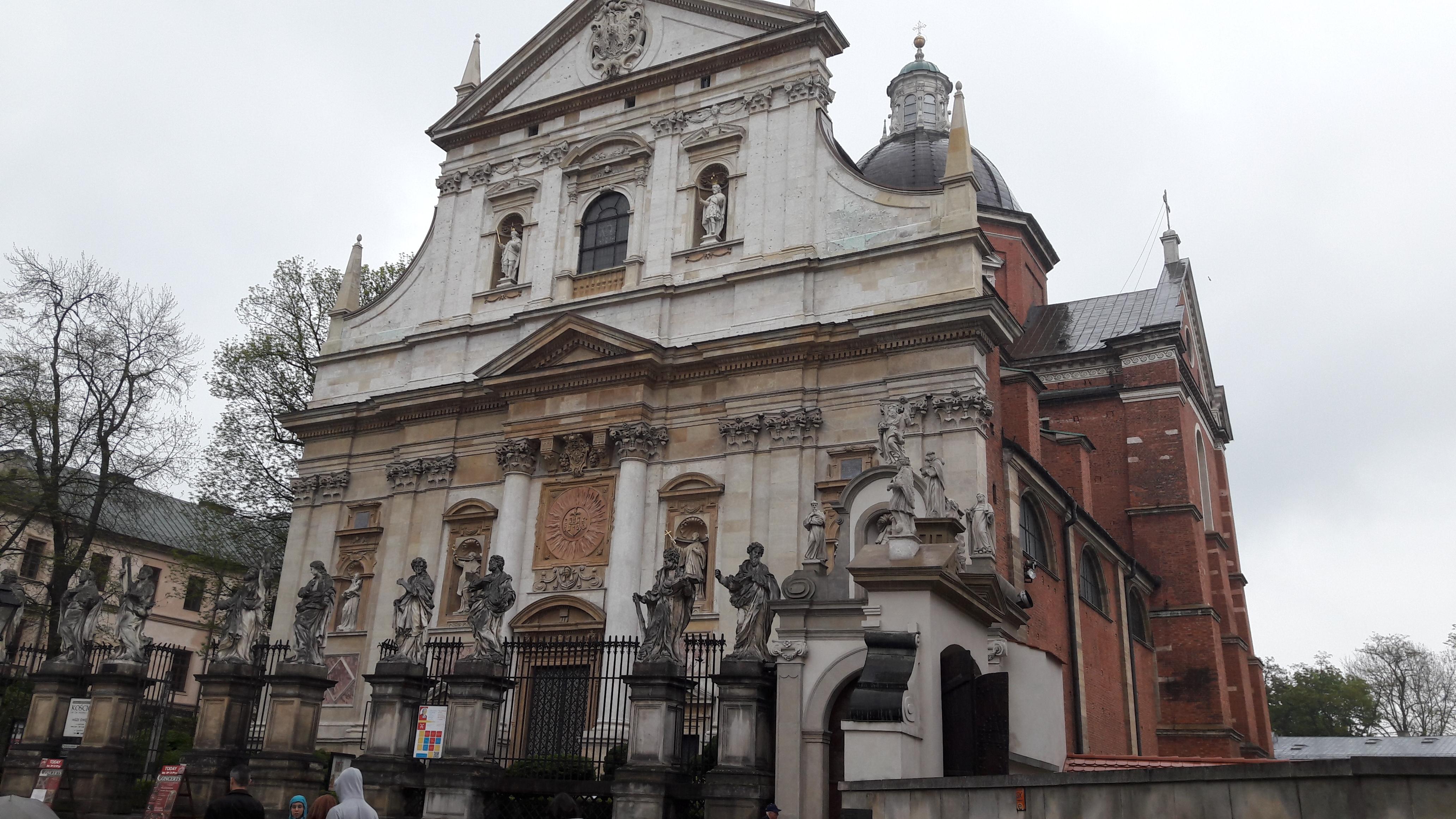 Krakow ch st pierre et st paul front may17
