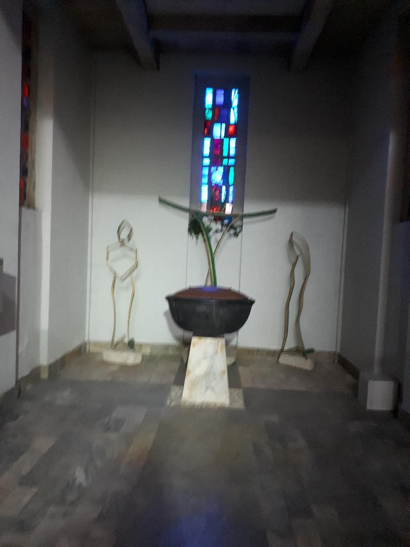 lorient ch St Louis baptismal font may21