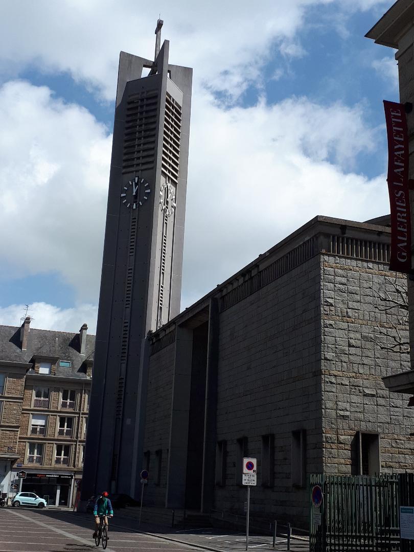 lorient ch St Louis belltower clock may21
