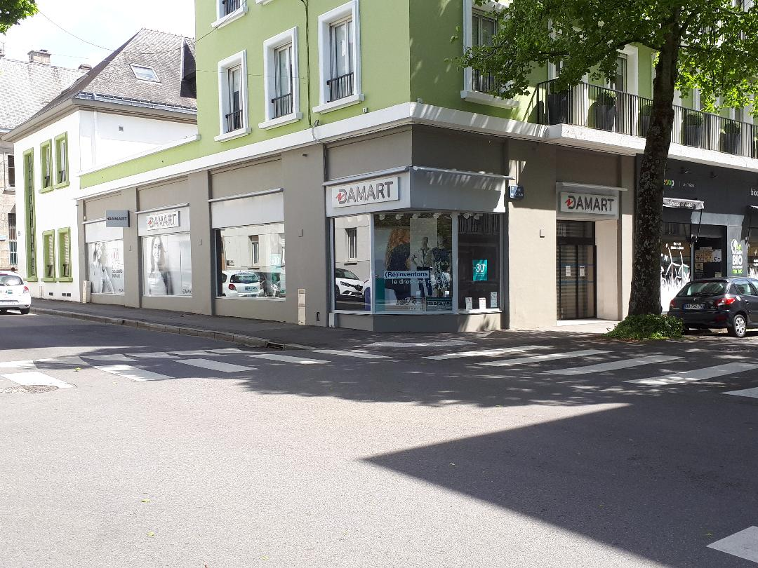 lorient Damart store souvenirs 7 rue Vauban may21