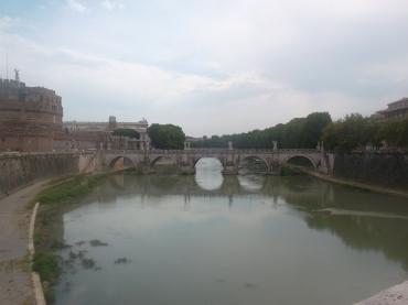 roma castel st angelo pt emman vitt to ponte st angelo aug13