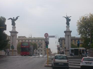 roma ponte emanuele vittorio II aug13