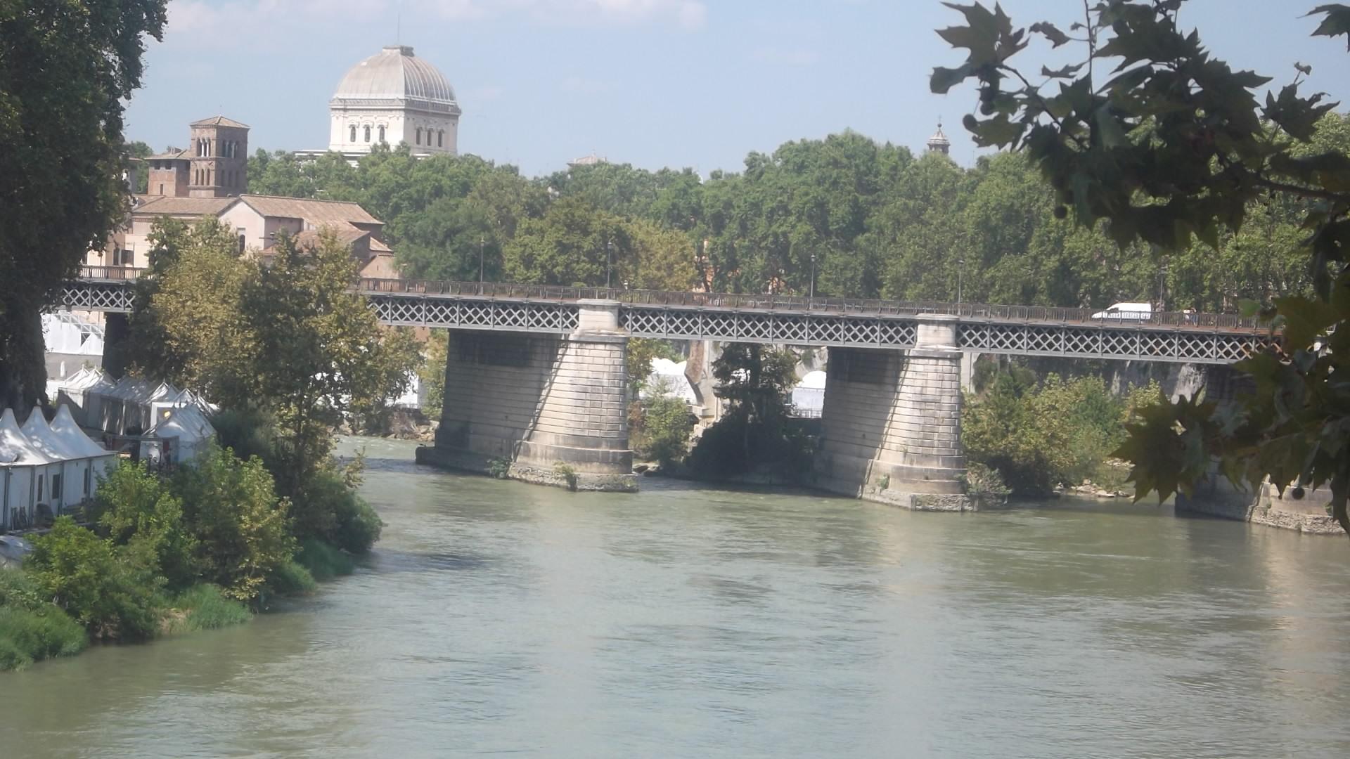 roma ponte palatino aug13