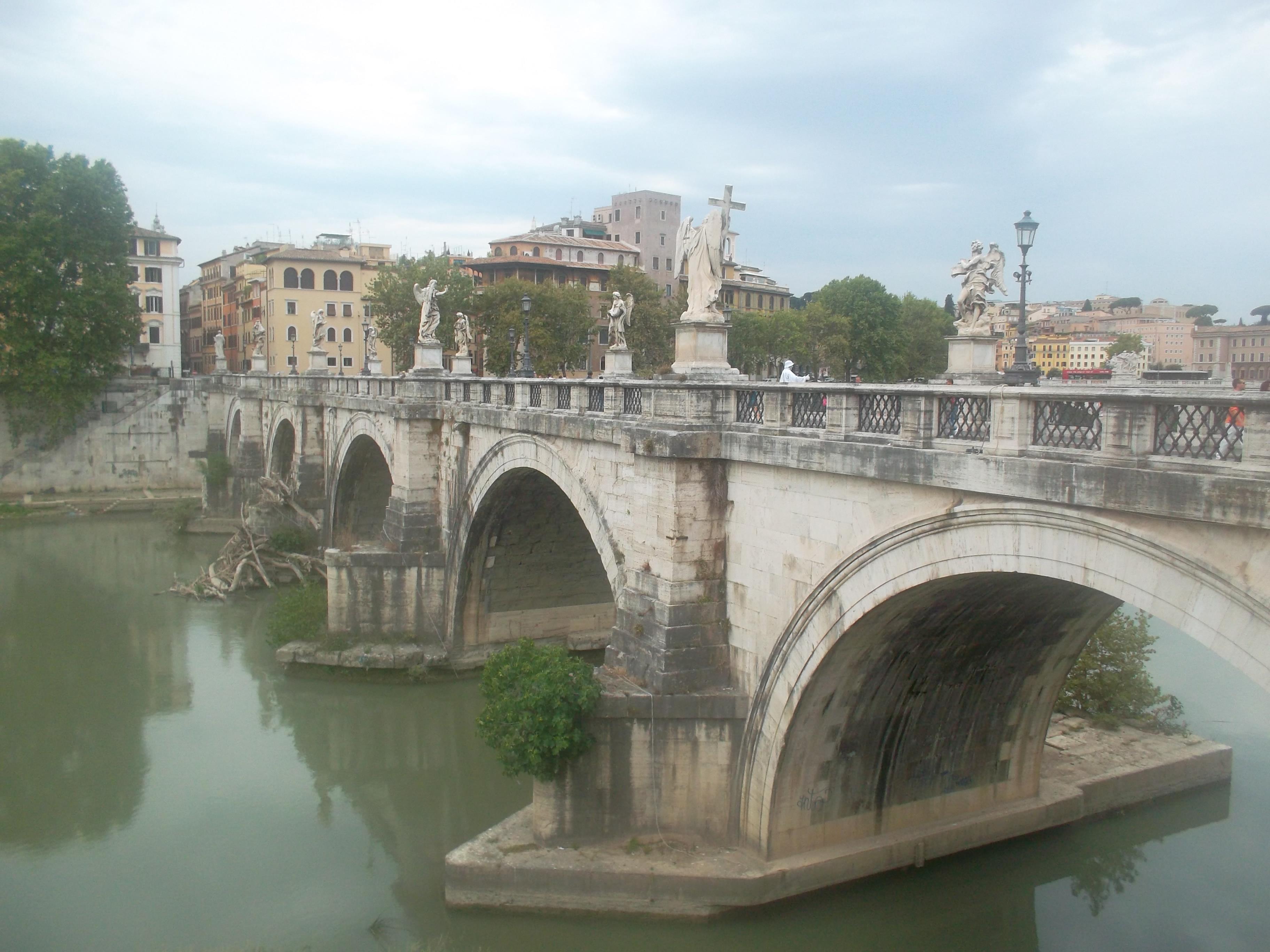 roma ponte st angelo aug13