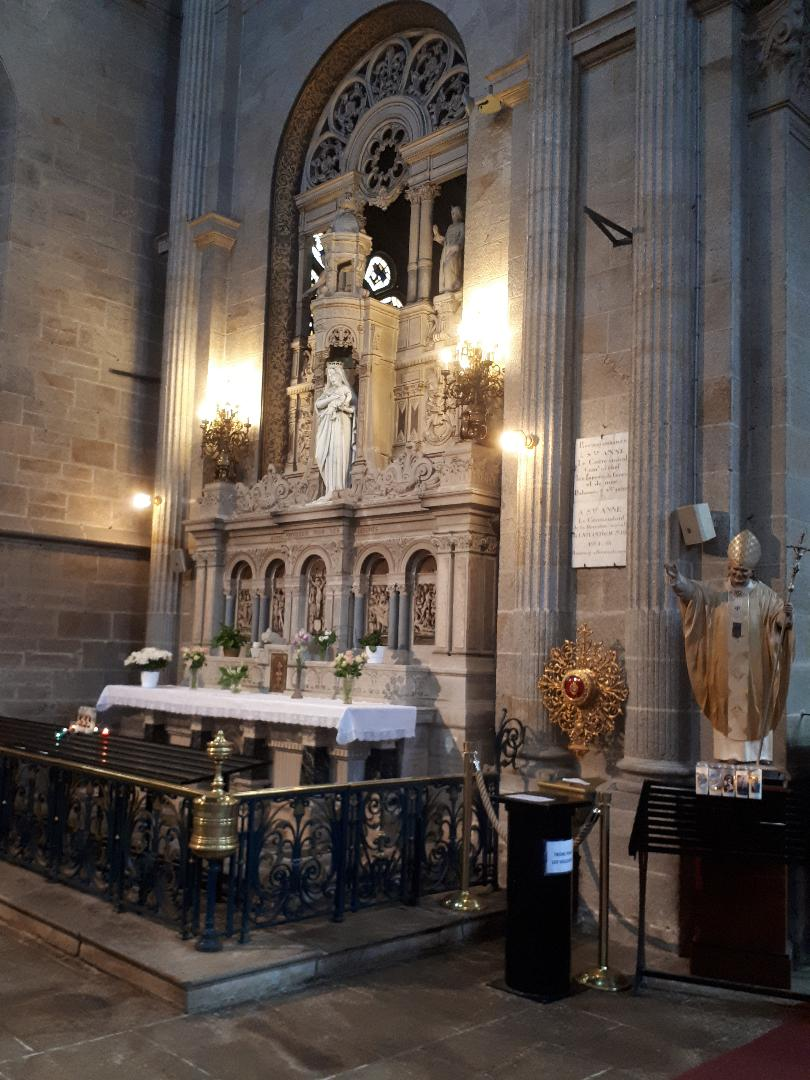Ste Anne d Auray Bas Ste Anne chapel Ste Marie may21