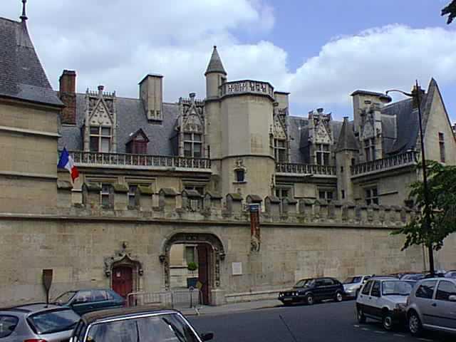 Paris cluny mus -entrance c2009