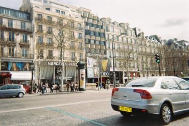 Paris lido cabaret on champs elysees c1995