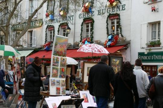 paris place-de-tertre-montmartre-paris c2009