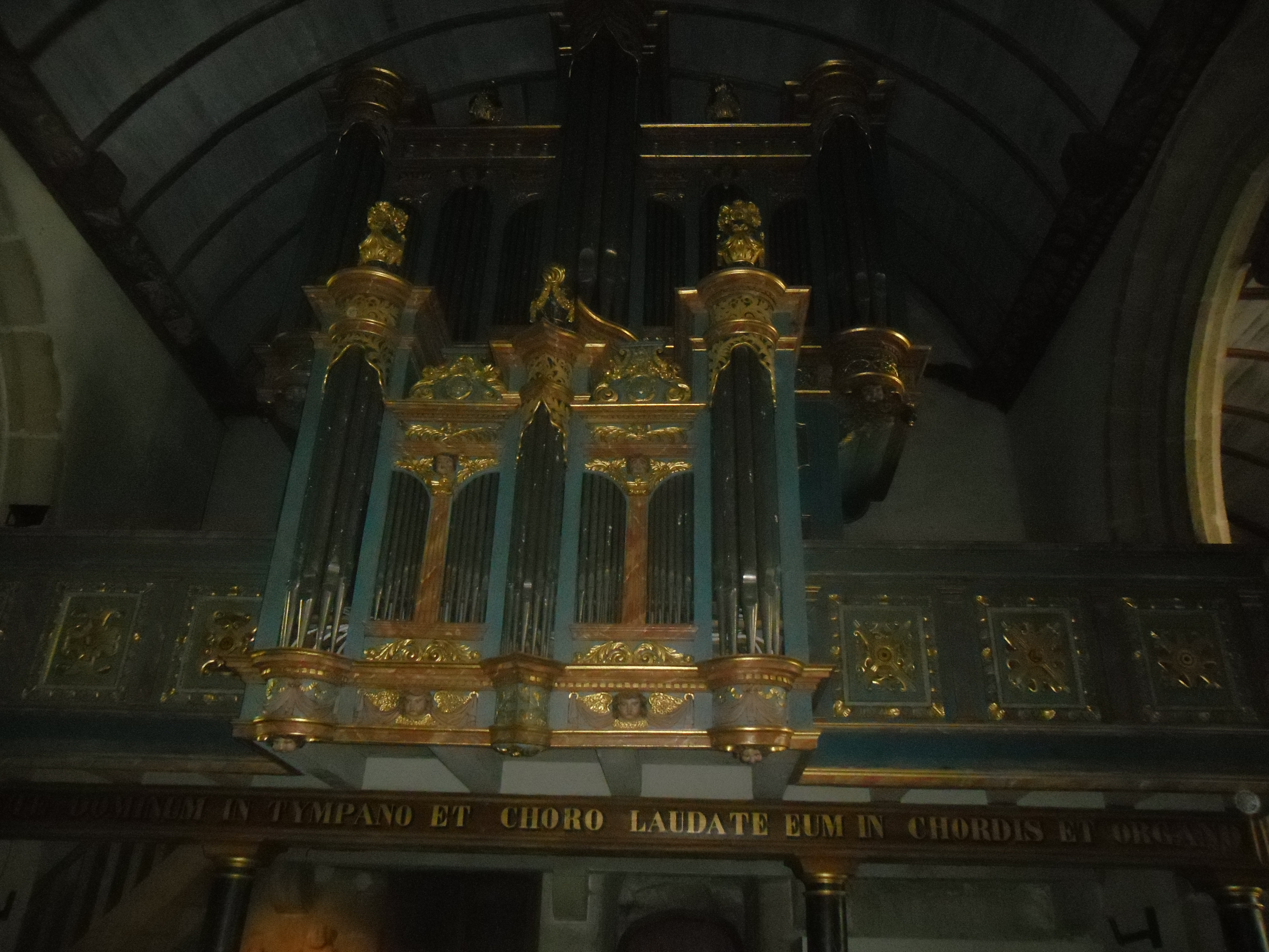 pleyben ch St Germain organ mar14
