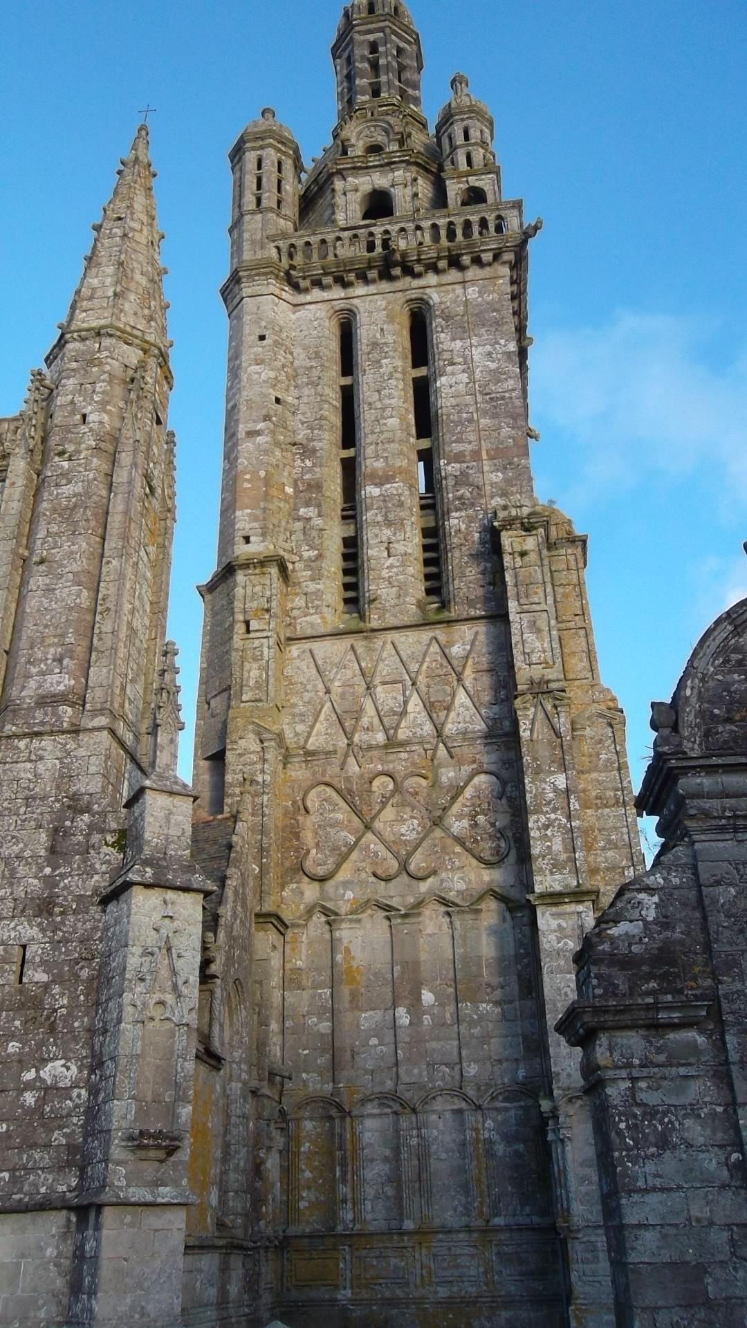 Pleyben enclos ch Saint Germain l'Auxerrois belltower nov12