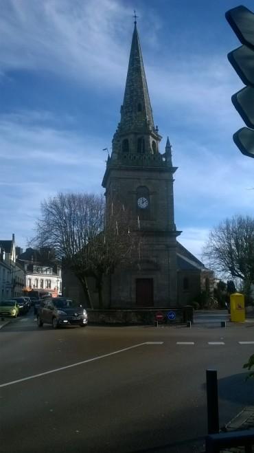 ploemeur ch st pierre belltower front jan18