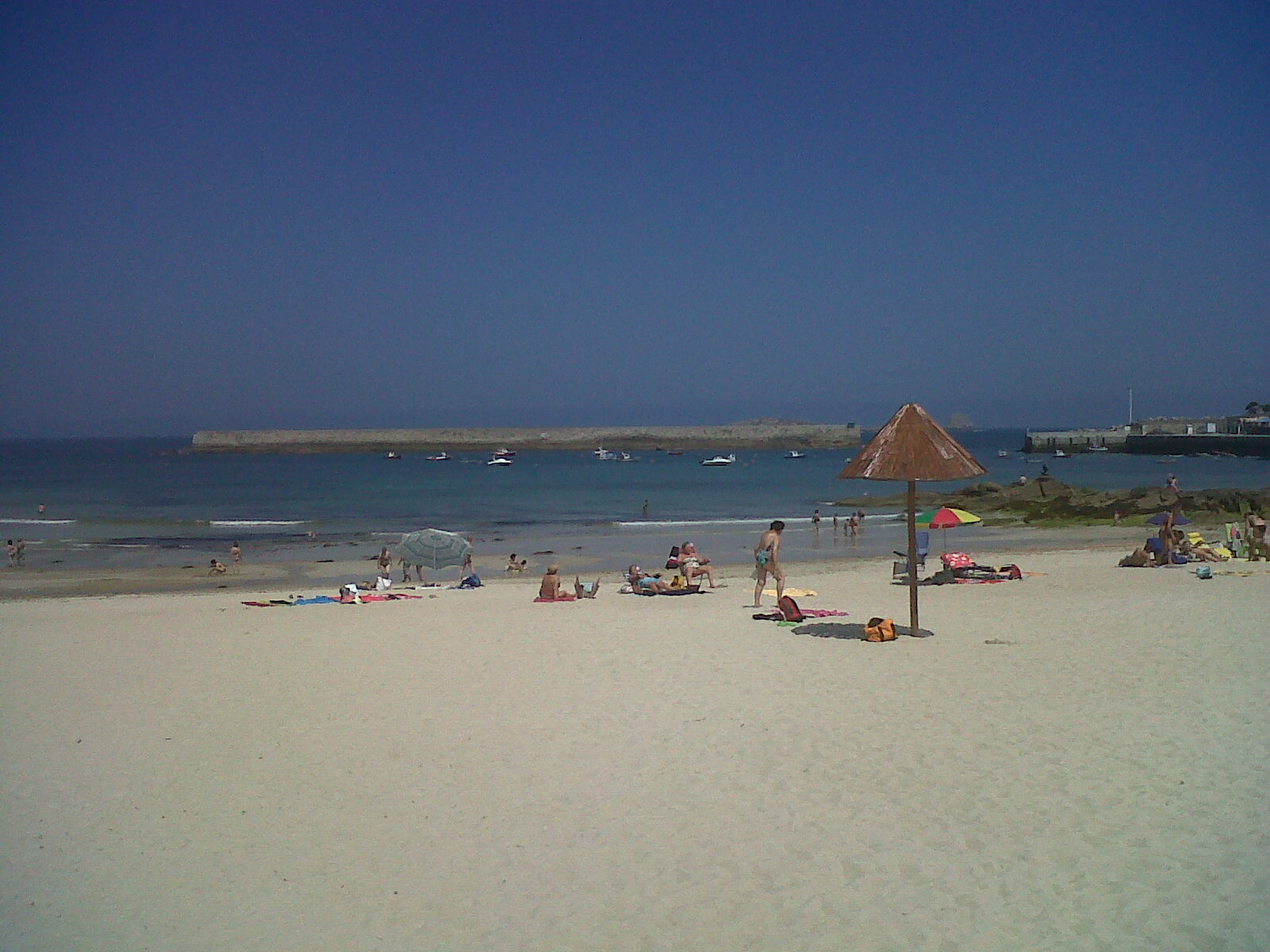 San Ciprian beach sands jul12