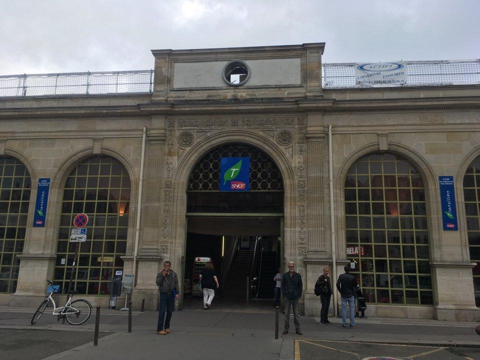 Versailles gare rive-droite-front