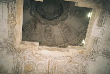 blois chateau mon stair ceilings dec15