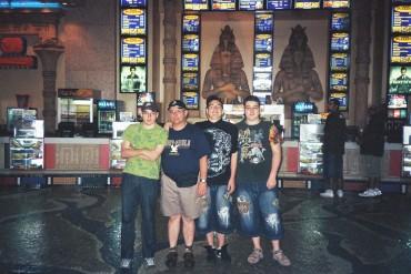 Davie inside cinemark for HP movie 22aug09