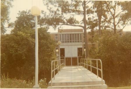 Daytona Beach ERAU dorm bridge 1977-1978 year