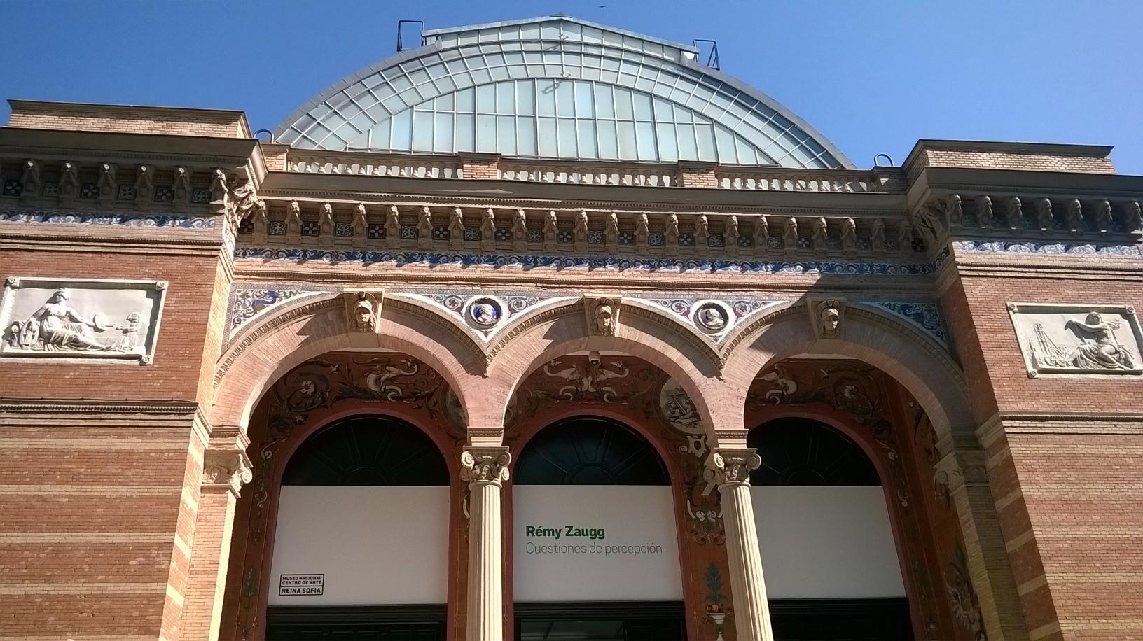 mad retiro park palacio de Velazquez front may16