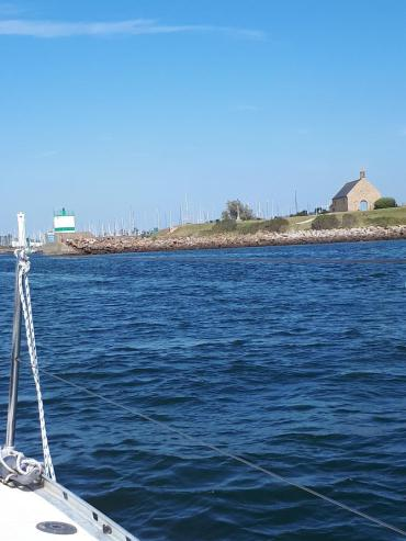 Port du Crouesty chapelle ND de Crouesty ent marina jul21
