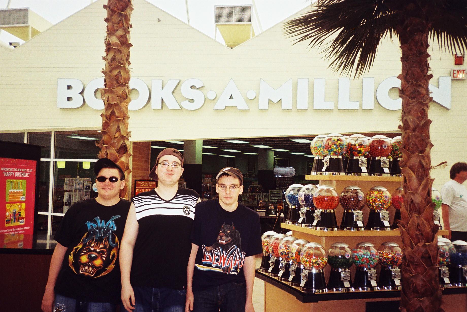 sunrise books a million sawgrass mills mall my boys Aug09