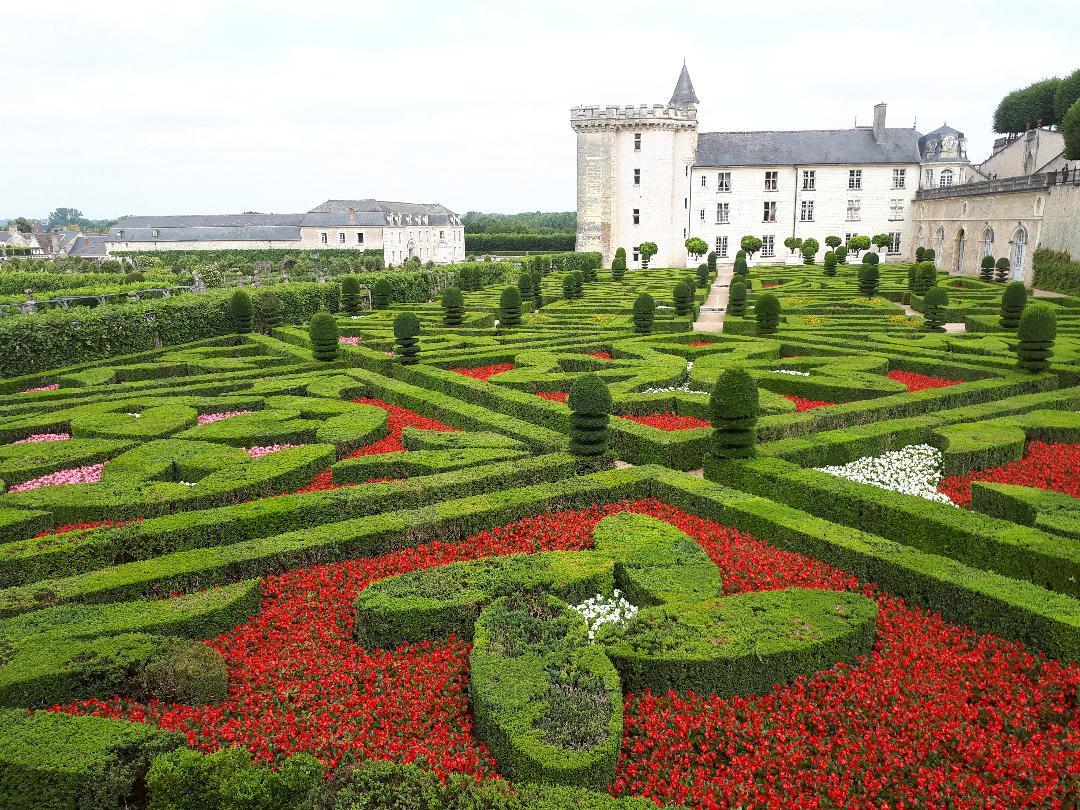 villandry chateau garden d ornements jul21