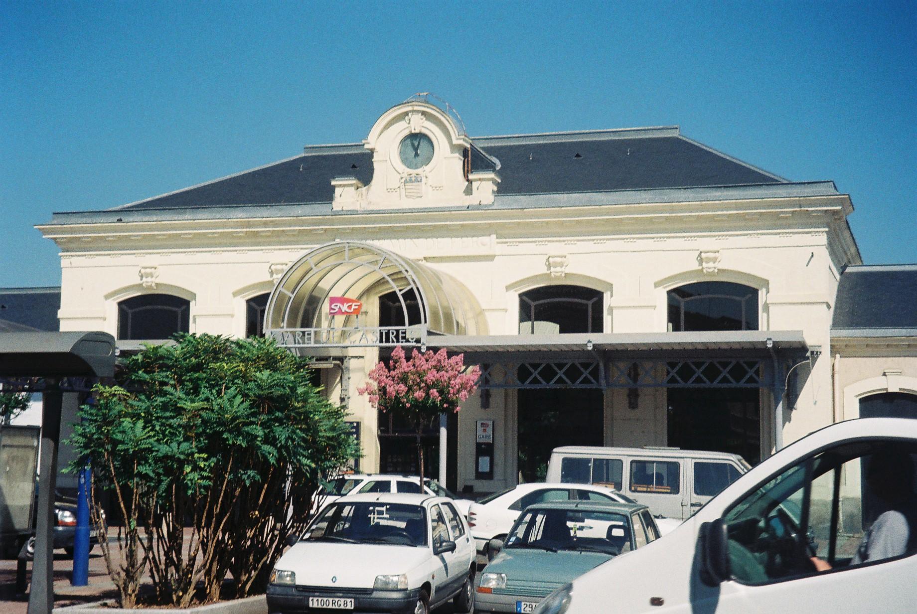 castres gare train station jul10