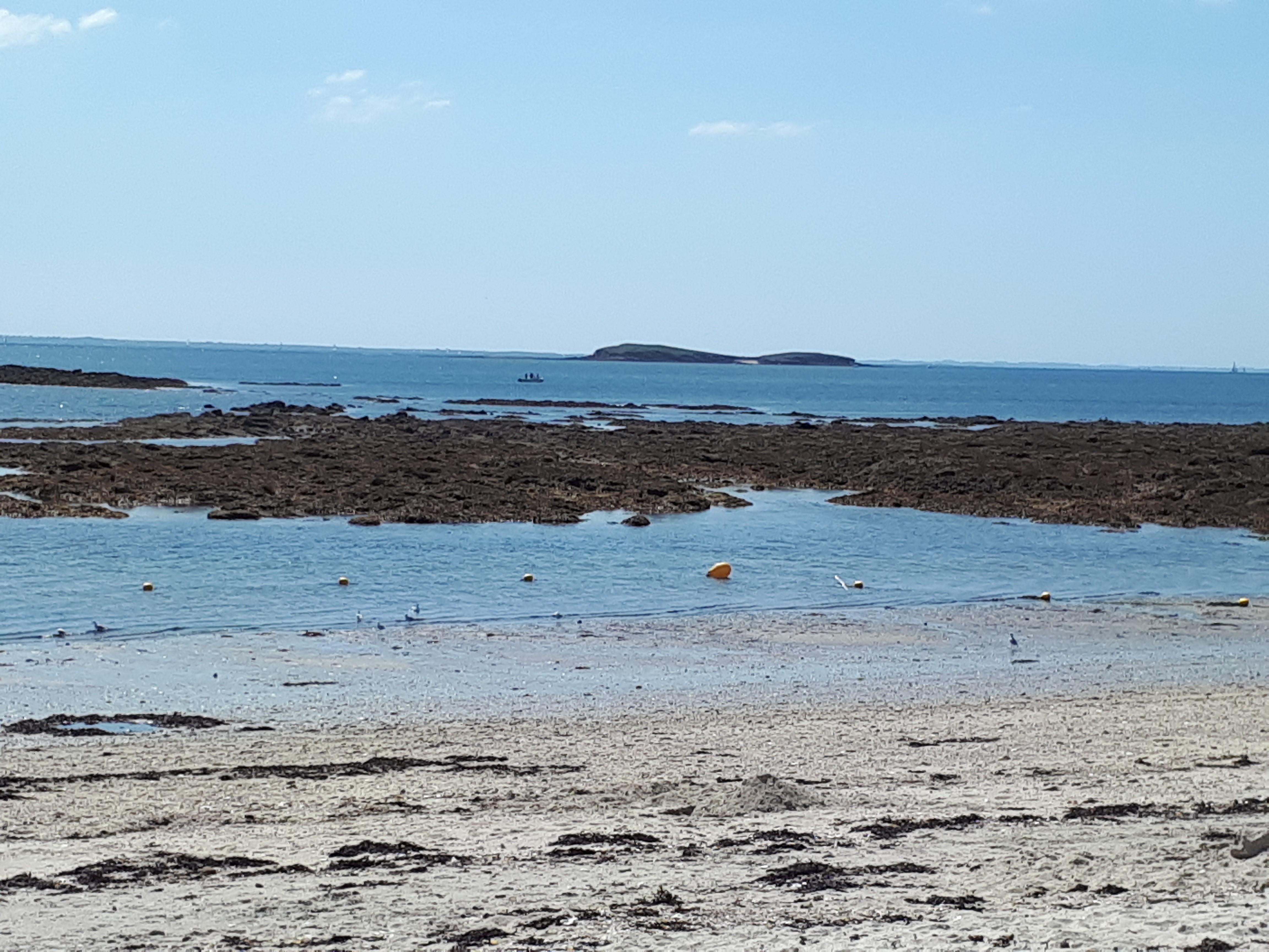 locmariaquer kerpenhir rolay beach to isles aug21