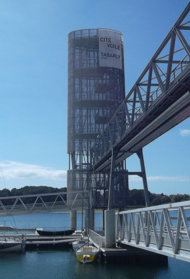 lorient-walkup-to-tower-cite-voile-eric-tabarly-sep12