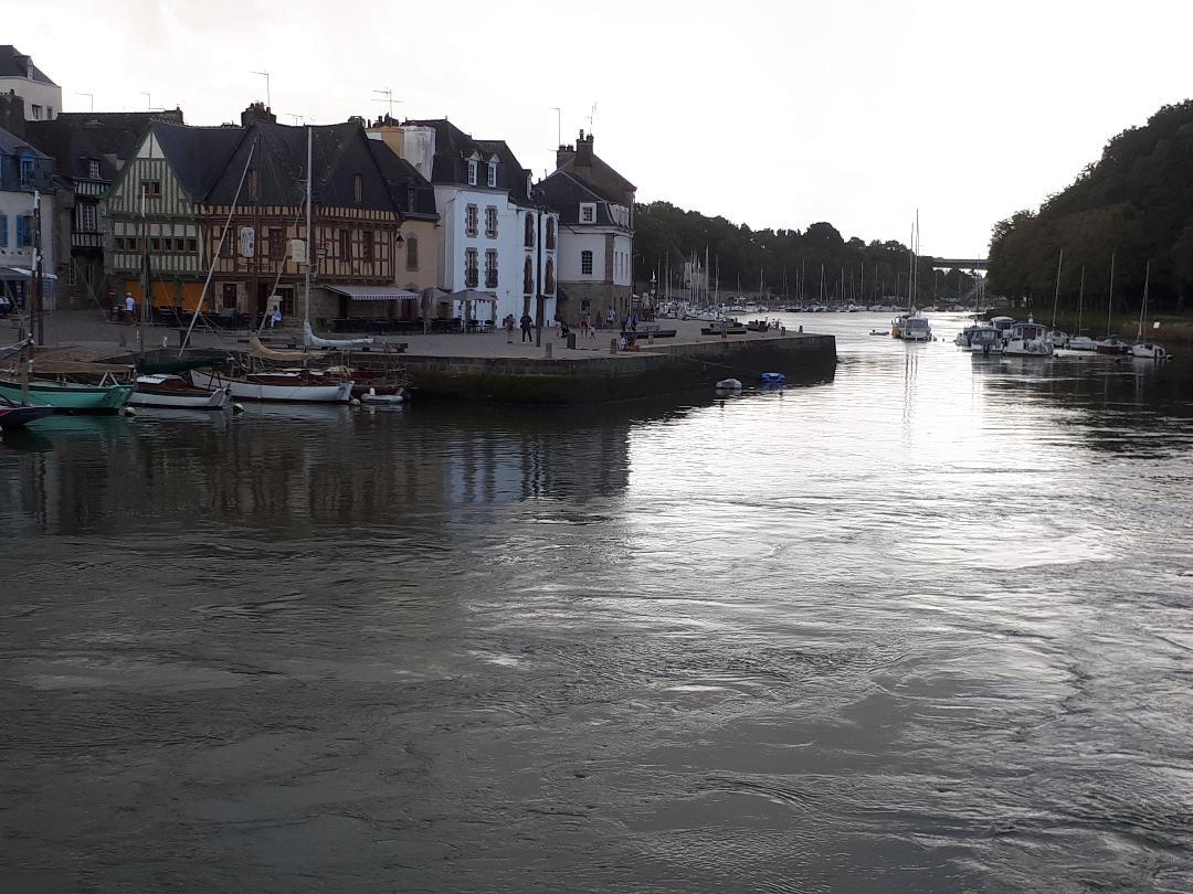 auray st goustan quai franklin and auray river to gulf aug19