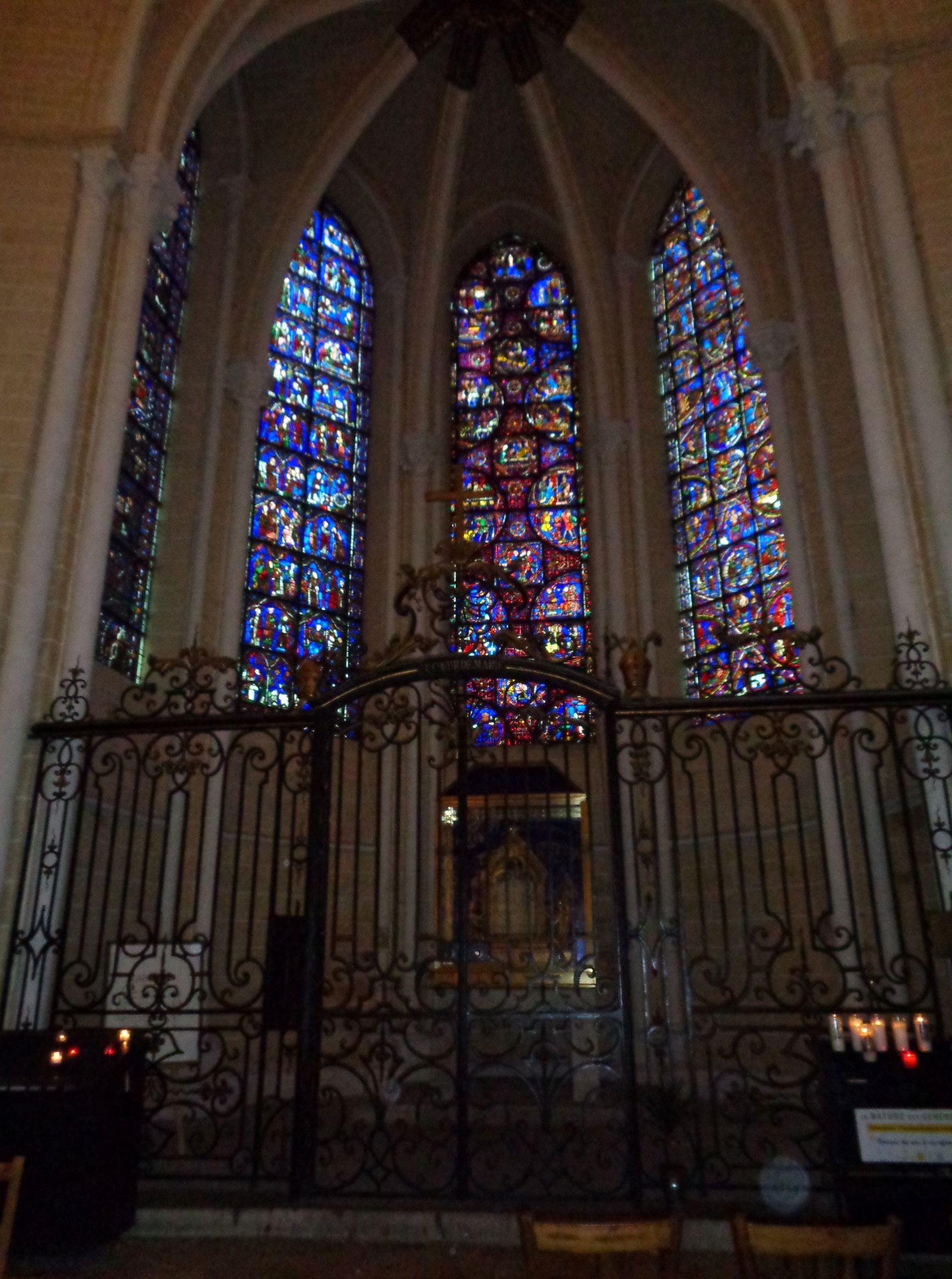 Chartres Cat ND chapelle du saint coeur de Marie sep21