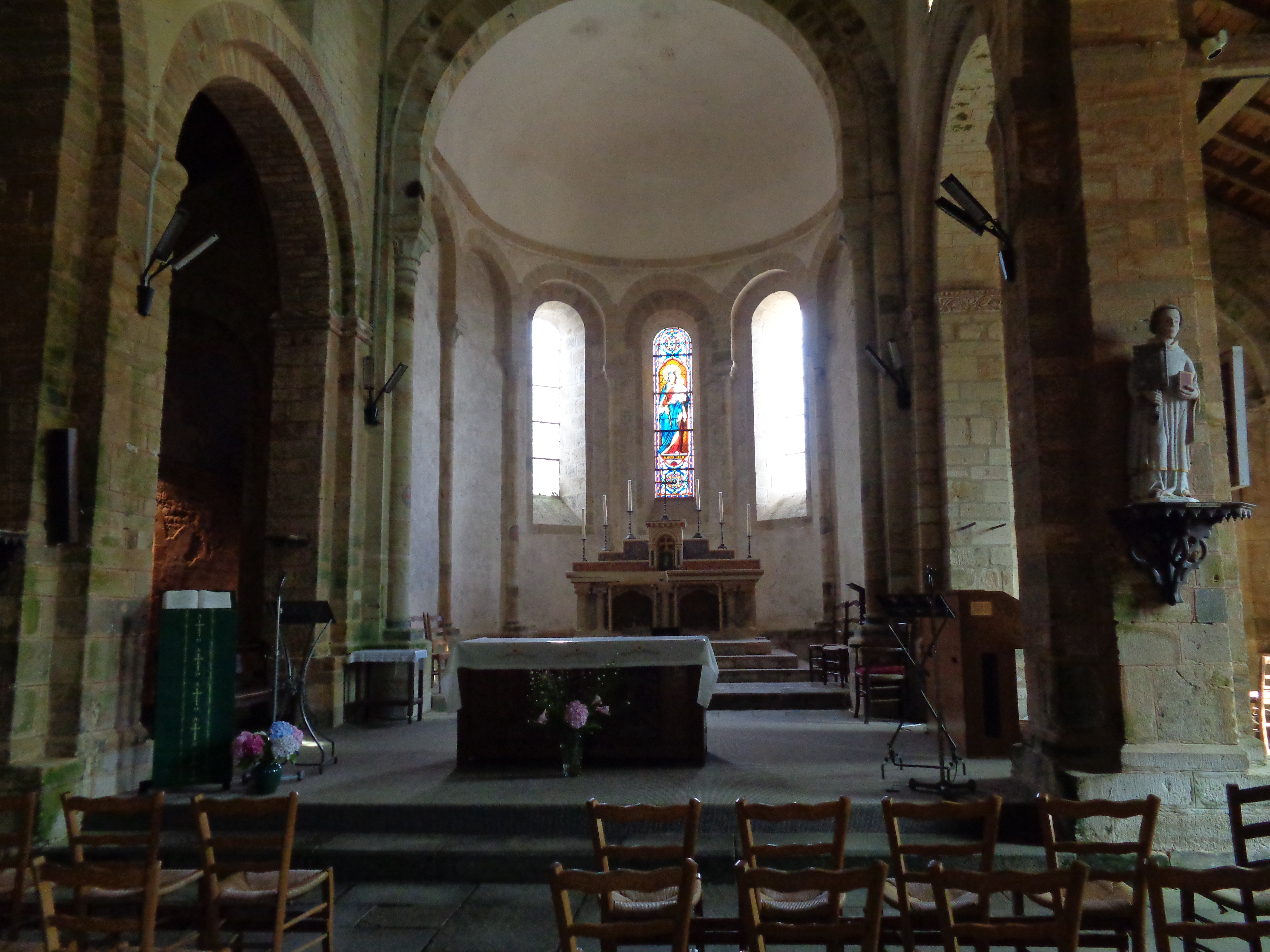 Daoulas abbaye ch ND altar sep21